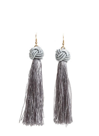Having A Ball Knotted Tassel Earrings