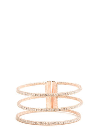 Three For All Cut-Out Cuff Bracelet