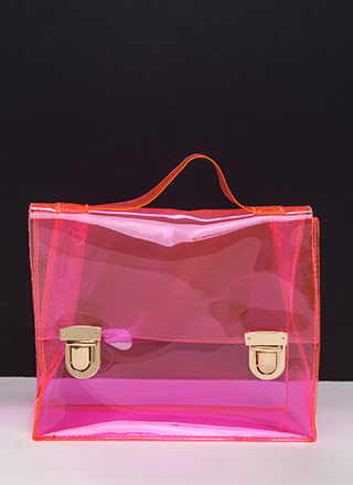 So Transparent Clear PVC Bag