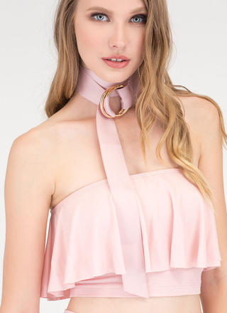 Wrapped Up In It Ribbon Choker Set