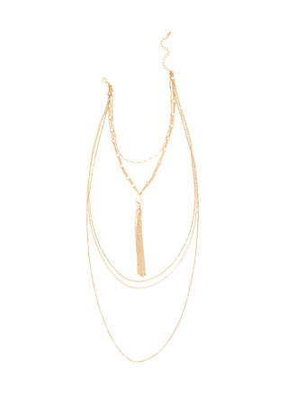 Luxe Amazing Layered Chain Necklace