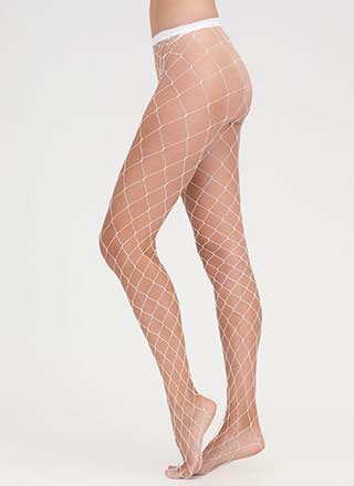 The Bigger They Come Fishnet Stockings