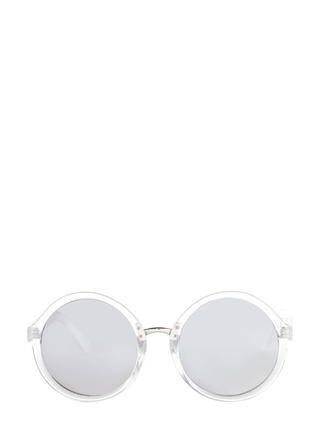 Mod Girl Mood Round Sunglasses