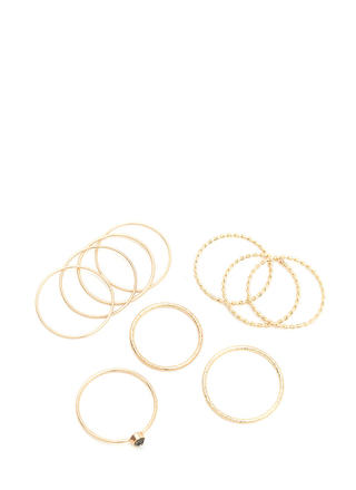 What's The Skinny Wire Ring Set