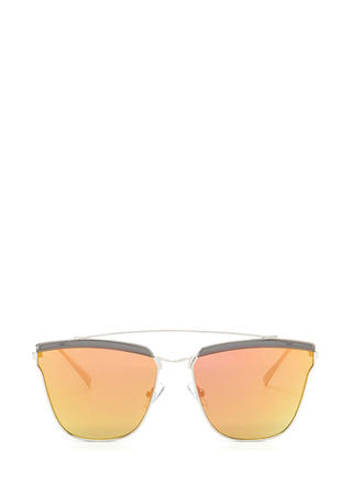 Eye Spy Mirrored Brow Bar Sunglasses