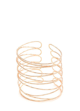 Delicate Statement Caged Cuff Bracelet