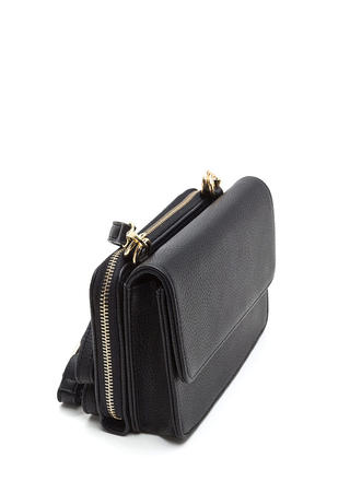 2 Become 1 Faux Leather Crossbody Bag