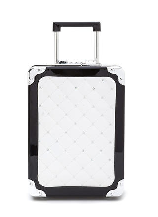 Jet Setter Quilted Luggage Purse