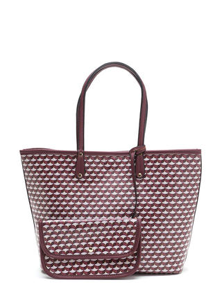 Woman About Town Printed Tote Bag