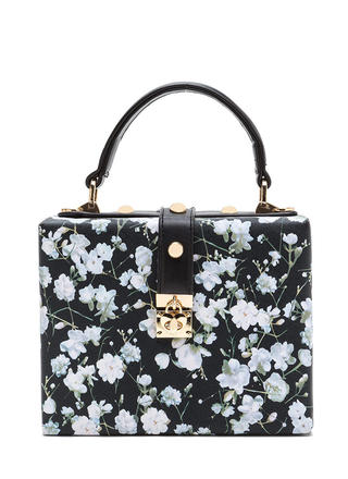 Back To Square One Floral Bag