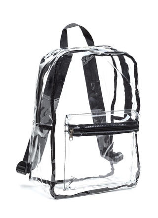 Clearly Perfect PVC Backpack
