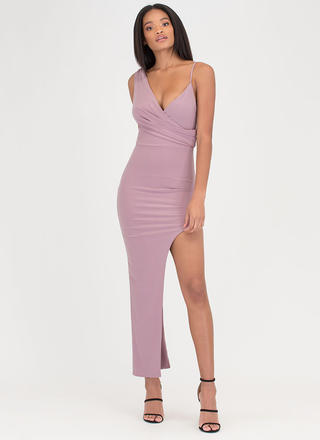 Conversation Piece High-Low Maxi Dress