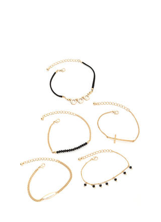 Chic Hardware Bracelet Set