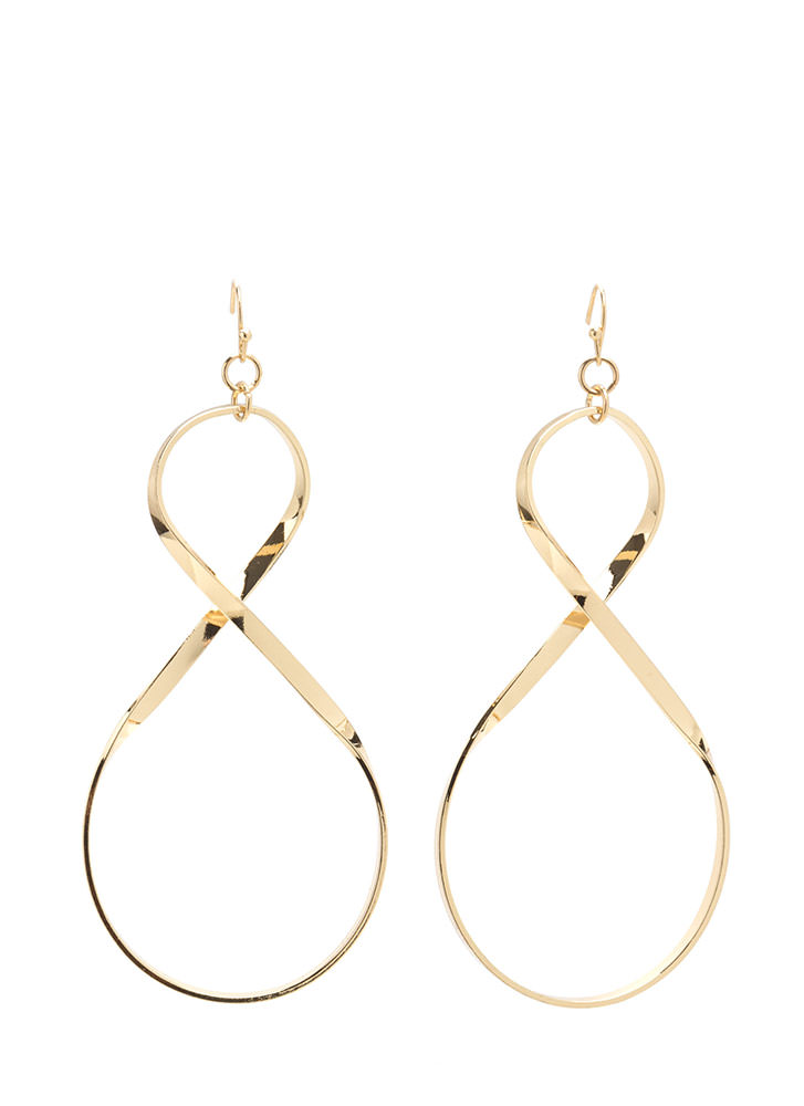 To Infinity Figure Eight Earrings