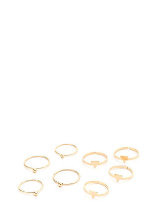 Your Choice Dainty Stacked Ring Set