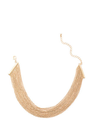 Totally Brilliant Layered Chain Necklace