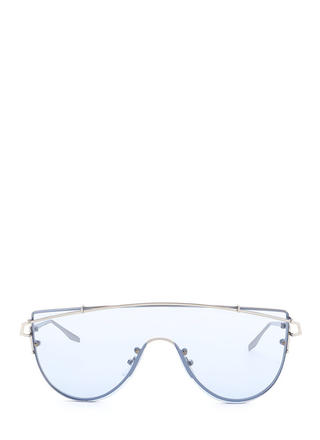 One More Time Tinted Shield Sunglasses