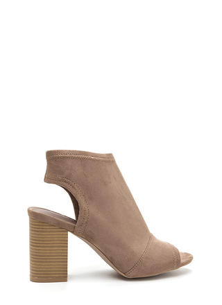 All Time Favorite Chunky Cut-Out Booties