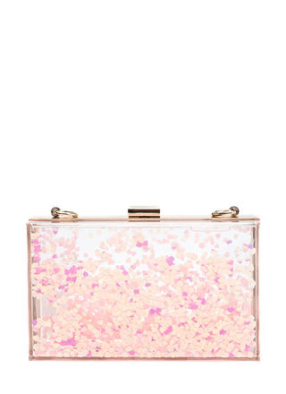 Heart And Soul Clear Clutch