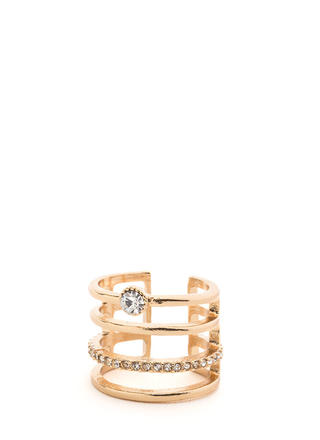 Stack Up Faux Jewel Ring
