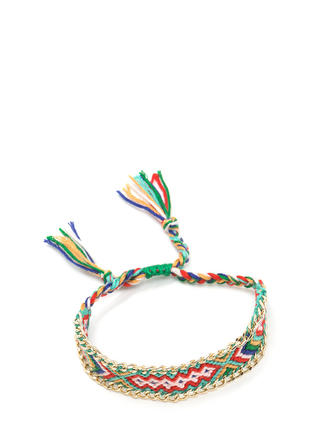 Weave Together Geo Bracelet