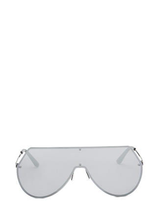 New Stunners Mirrored Shield Sunglasses