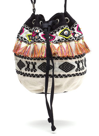 Desert Darling Woven Bucket Bag