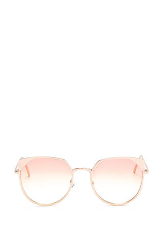 Sunny View Rounded Sunglasses