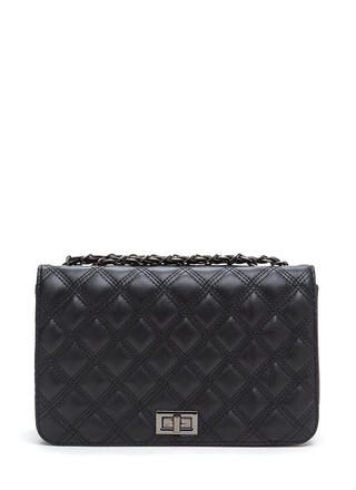 Designer Taste Quilted Faux Leather Bag