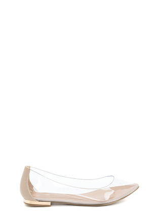 Such A Princess Clear Pointy Flats