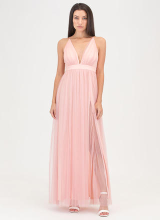 Ballerina Nights Tulle Maxi Dress