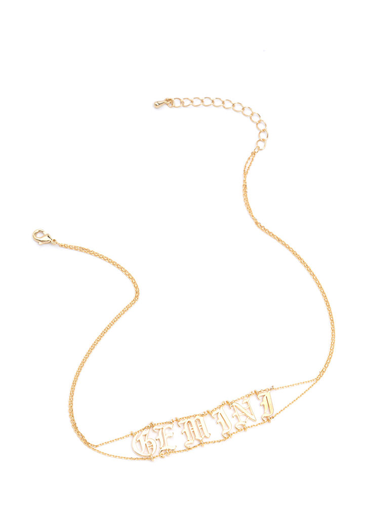 Astrology Talk Gemini Chain Choker