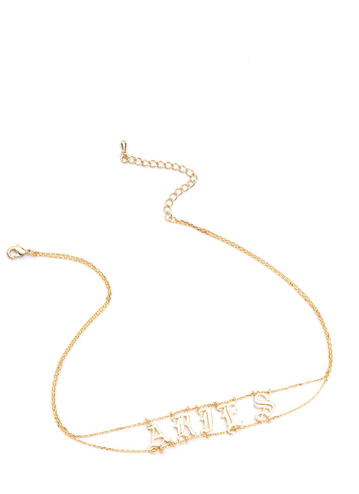 Astrology Talk Aries Chain Choker