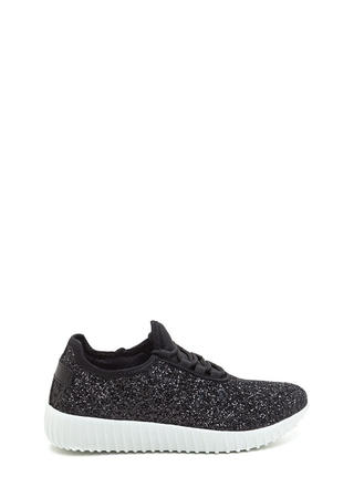 All Glitz Lace-Up Sneakers