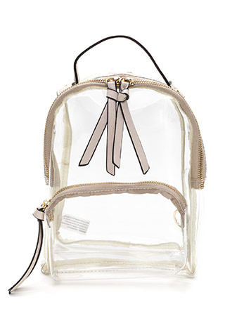 See Right Through You Mini Backpack