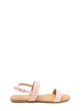 Totally Classic Faux Leather Sandals