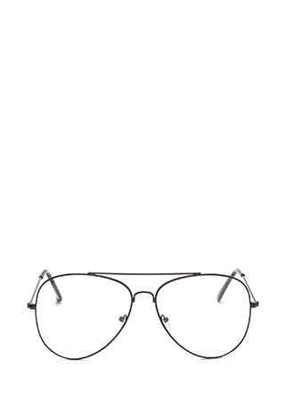 Chic Perspective Top Bar Glasses