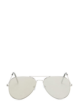 Sky High Mirrored Aviator Sunglasses