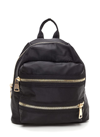 Set A Trend Chunky Zippered Backpack