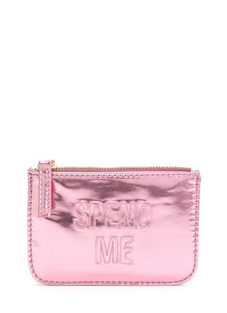 Spend Me Metallic Coin Purse