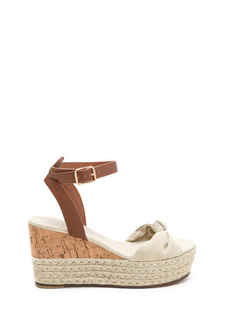 Vacay Plans Canvas Espadrille Wedges