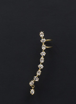 Jewel Thief Cubic Zirconia Earcuff