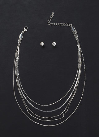 Delicate Situation Layered Necklace Set
