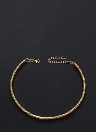 Evening Highlight Snake Chain Necklace