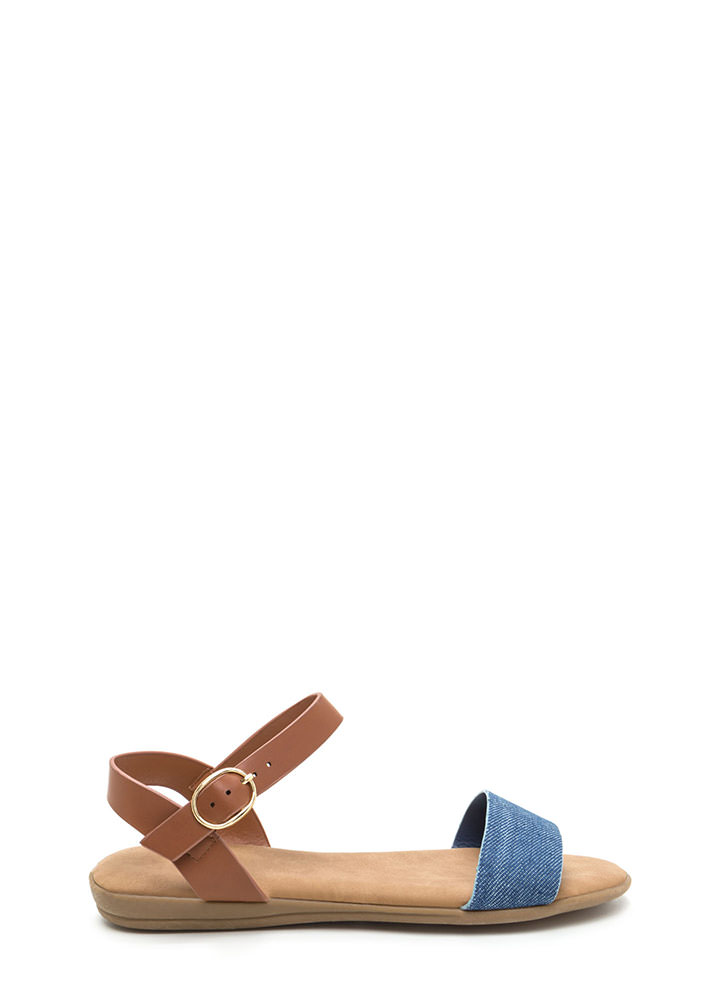 Weekend Wanderer Denim Strap Sandals