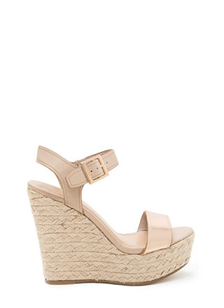 Endless Summer Espadrille Wedges