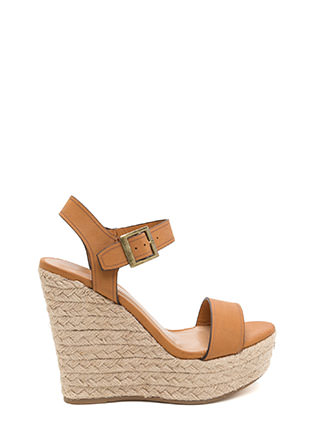 Forever Summer Espadrille Wedges