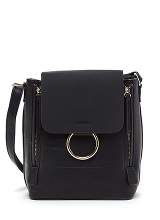 Ring Back To Life Double Zip Bag