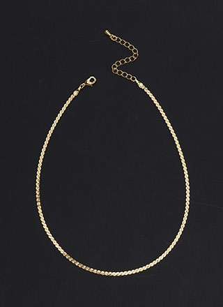S Is For Skinny Chain Choker