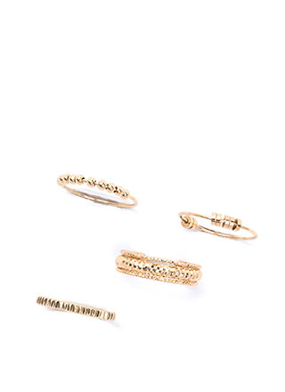Stack At It Again Embellished Ring Set